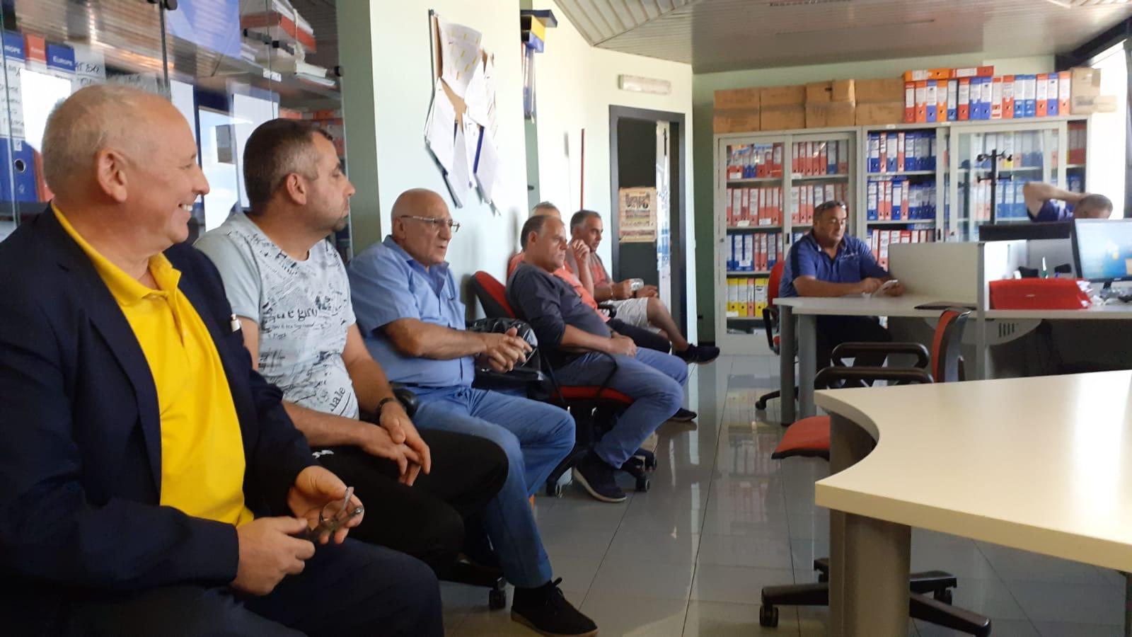 Benevento| Lavoratori Samte: presidio presso la sede della partecipata