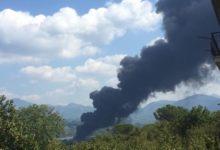 Avellino| Incendio fabbrica, squadre dei Vigili del Fuoco da tutta la regione