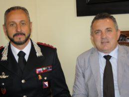 Il Comandante Passafiume in visita alla Provincia di Benevento