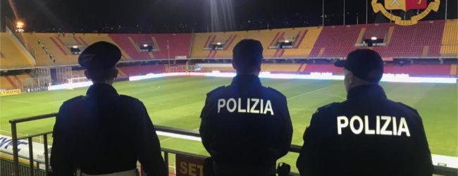 Match Benevento-Cittadella, Daspo per un tifoso giallorosso