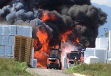 Avellino| Borrelli e Palmieri (Verdi), inviata nota all'Arpac su incendio fabbrica materiali plastici
