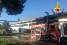 Avellino| Incendio alla Ics, buoni i primi dati sulle Pm10. Ora si attendono quelli sulla diossina