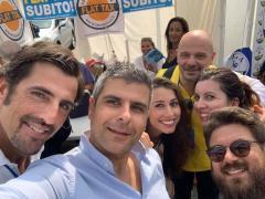 Benevento  Lega: un gazebo contro il governo delle tasse e dell'invasione