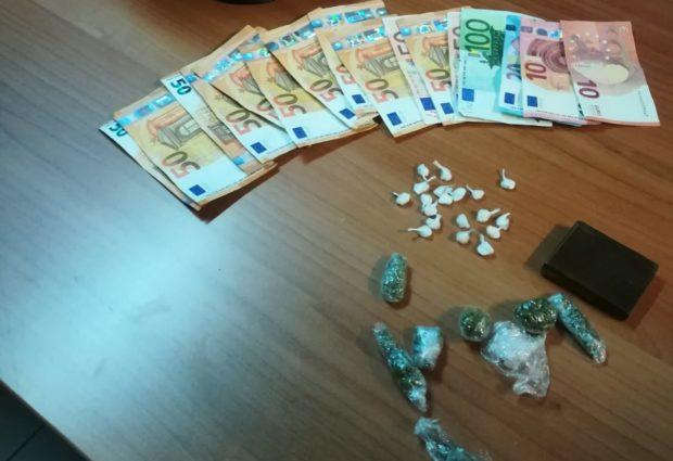 Montesarchio| Detenzione ai fini di spaccio di sostanze stupefacenti, arrestate due persone