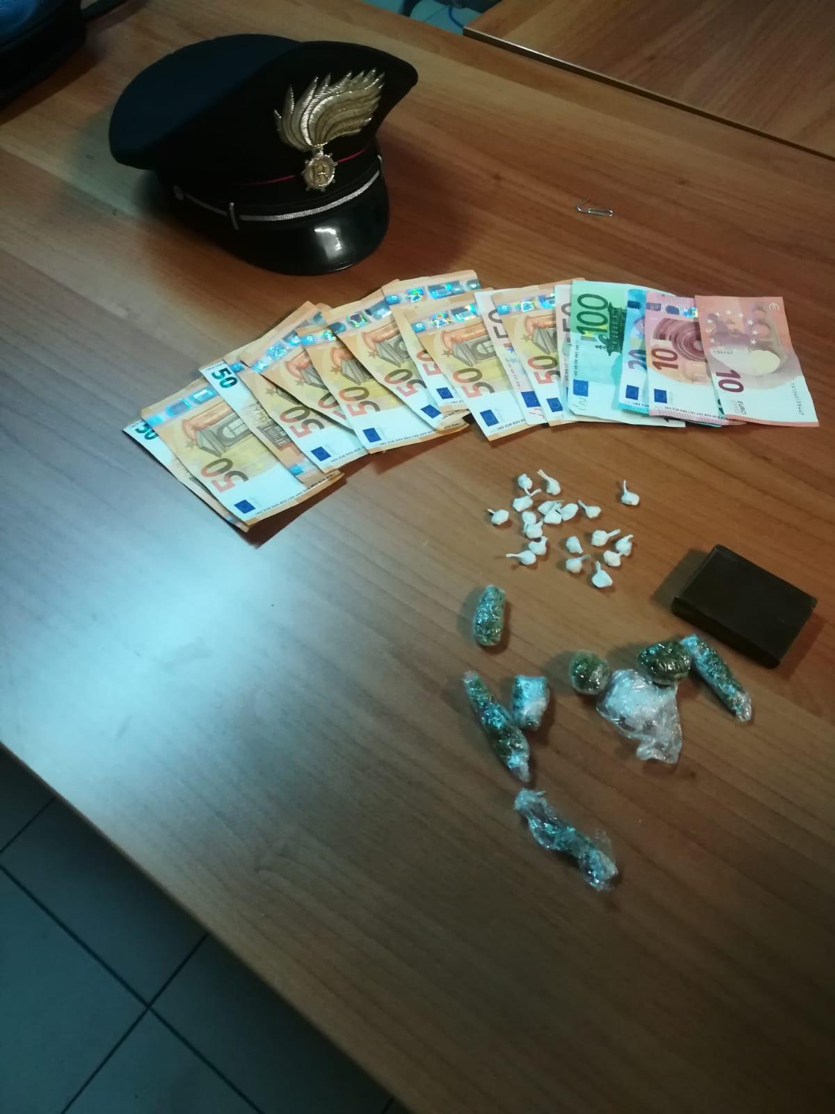 Montesarchio  Detenzione ai fini di spaccio di sostanze stupefacenti, arrestate due persone