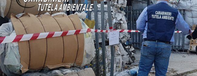 Paolisi  350 mc di rifiuti speciali stoccati illecitamente: CC sequestrano area, una persona denunciata