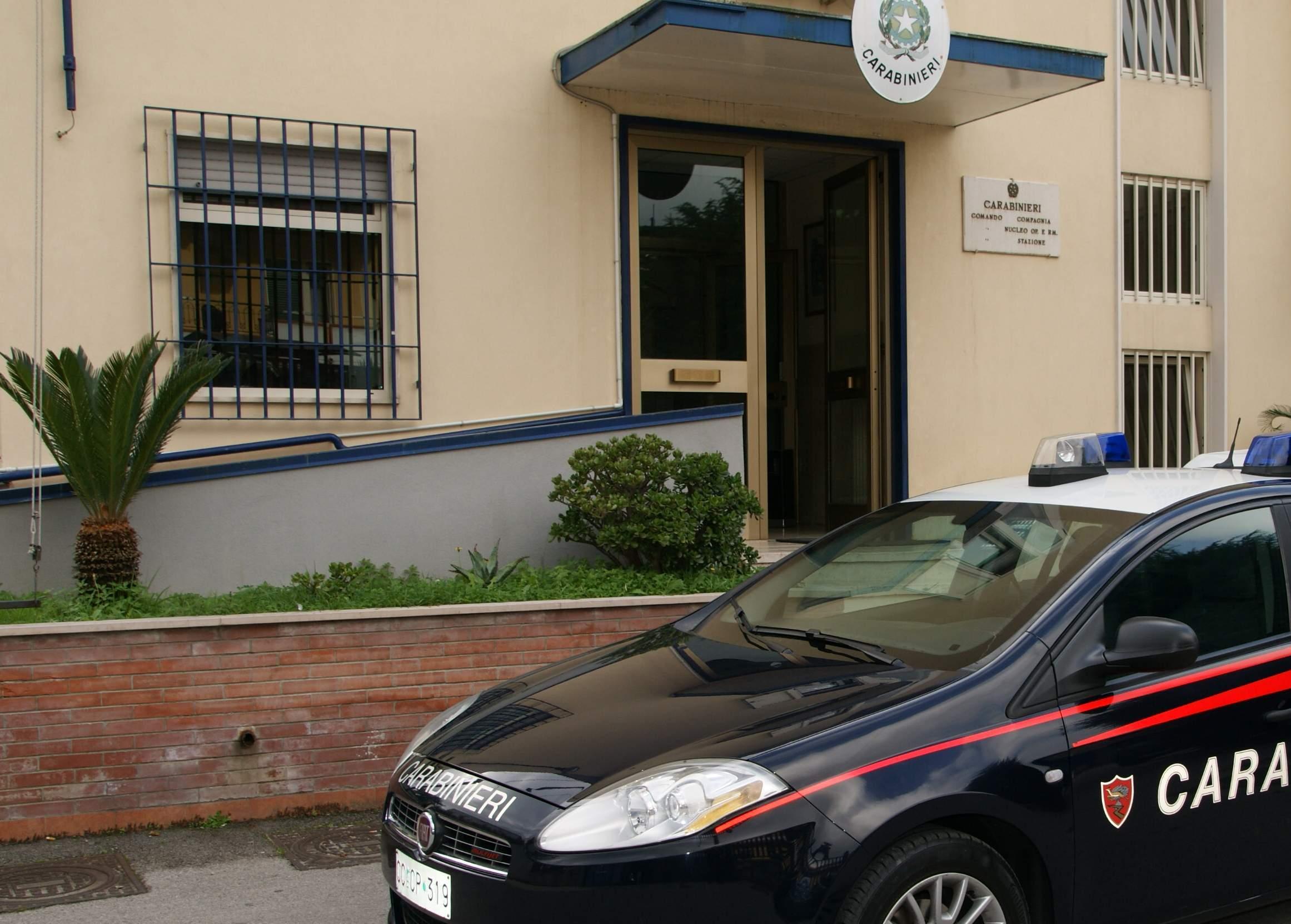 Sperone  Evade dai domiciliari e aggredisce familiari e carabinieri intervenuti: 48enne in carcere