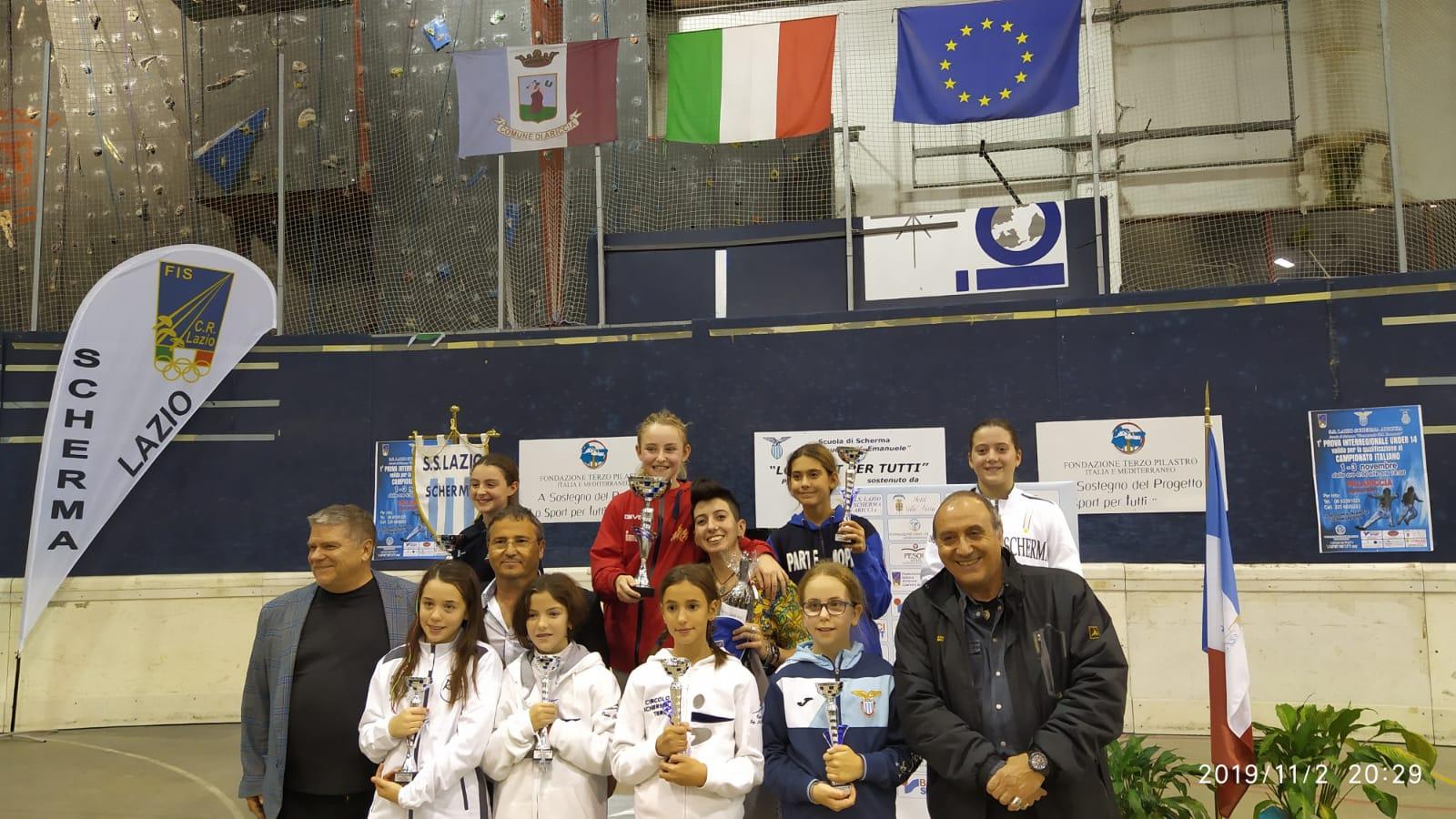 Scherma| Week end positivo per l'Accademia Olimpica Beneventana
