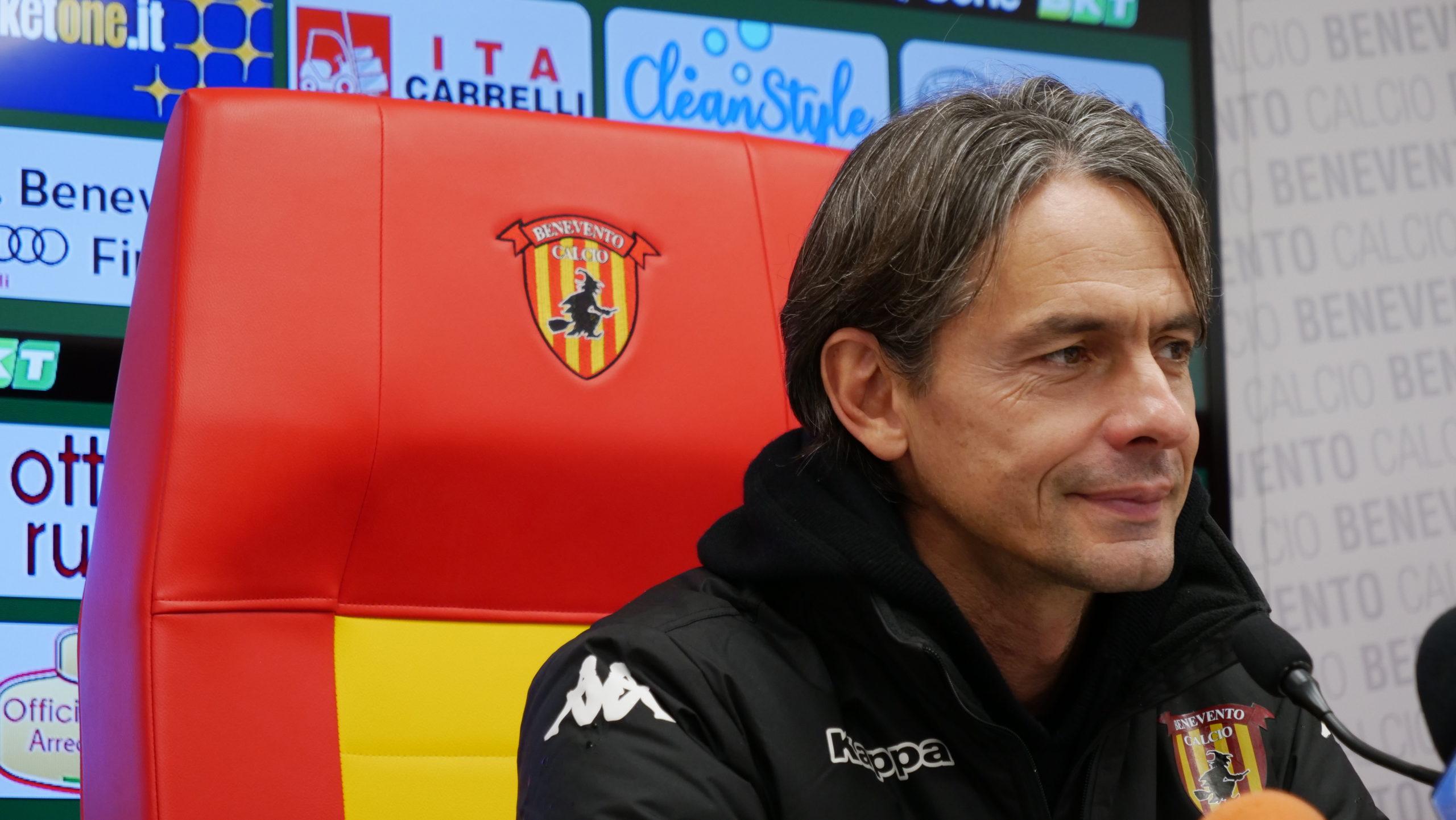 """Benevento, Inzaghi: """"Voglio vedere in trasferta la stessa squadra del Vigorito"""""""
