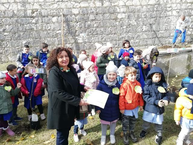Festa dell'albero a Santa Croce del Sannio