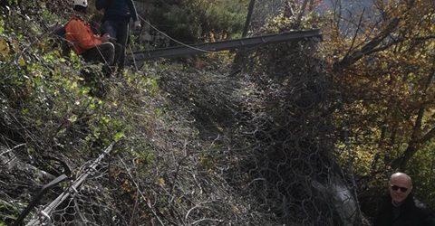 Cerreto Sannita  Caduta massi su Provinciale 'Mutria': ancora chiusura al traffico