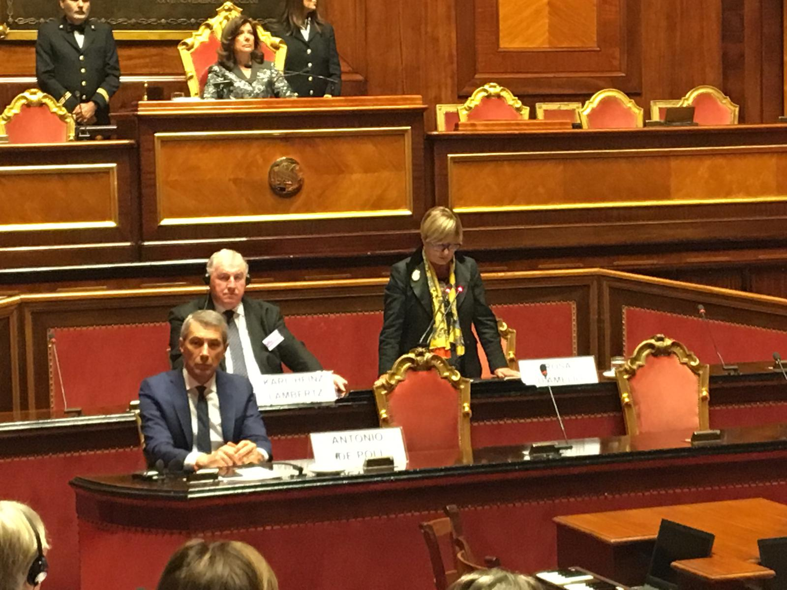 """Sussidiarietà e Regioni nel rilancio della Ue, D'Amelio: """"Necessaria partecipazione effettiva al processo decisionale"""""""