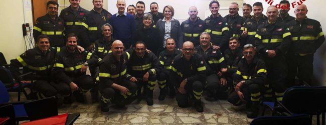 Benevento| Vigili del Fuoco, terminato corso per addetto al servizio prevenzione e protezione