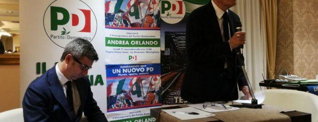 Avellino| Tesseramento e visita di Orlando, Cennamo a Festa: chi non condivide regole democratiche e fuori dal Pd