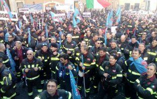 Anche i Vigili del Fuoco di Benevento protesteranno a Roma