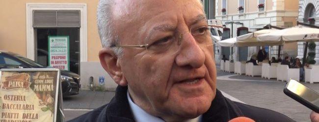 """Scuola,  De Luca: """"Oggi si decide per rinvio a 24 settembre"""""""