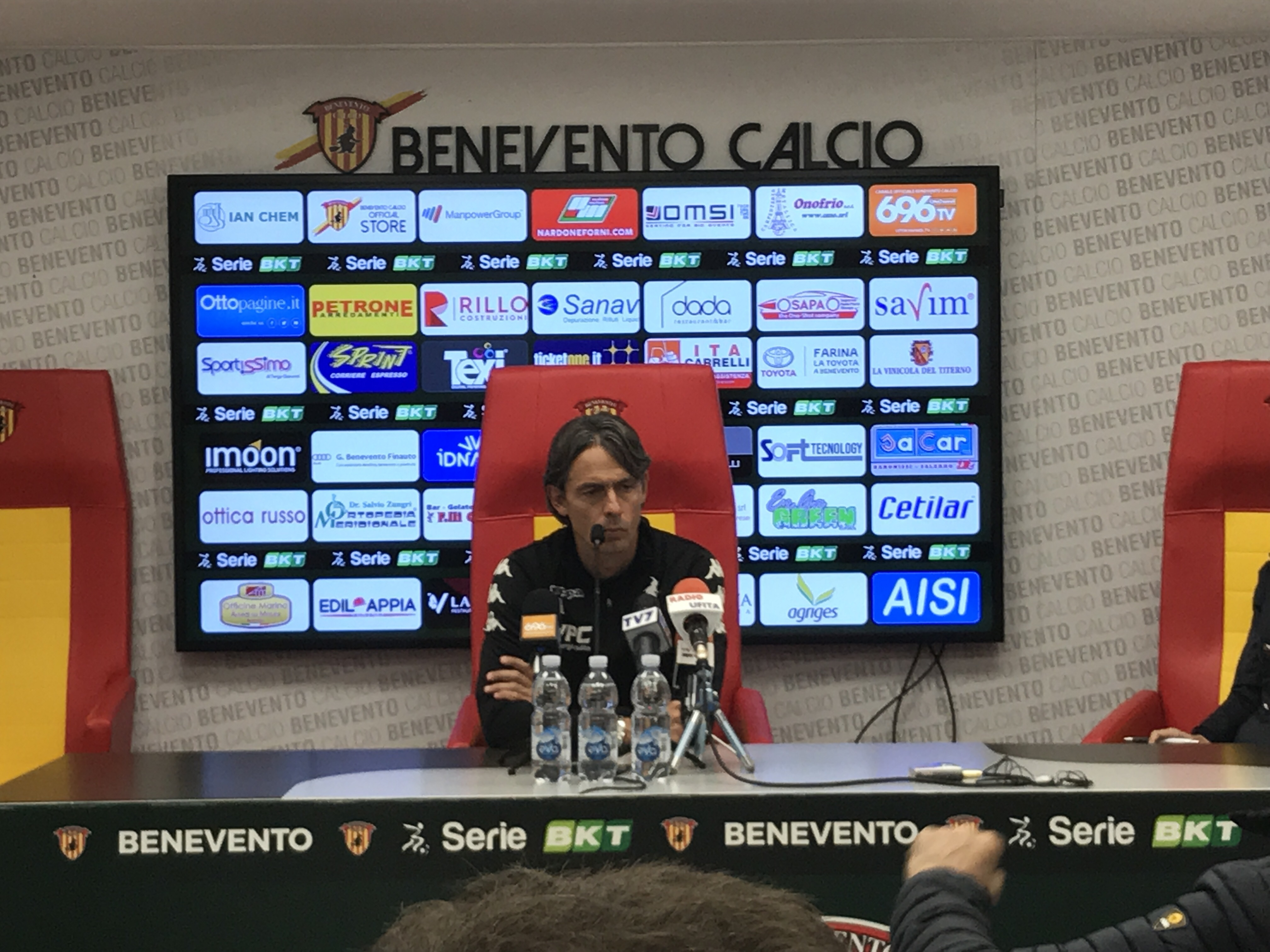 """Benevento, Inzaghi: """"A Castellammare voglio una gara come il derby di Salerno"""""""