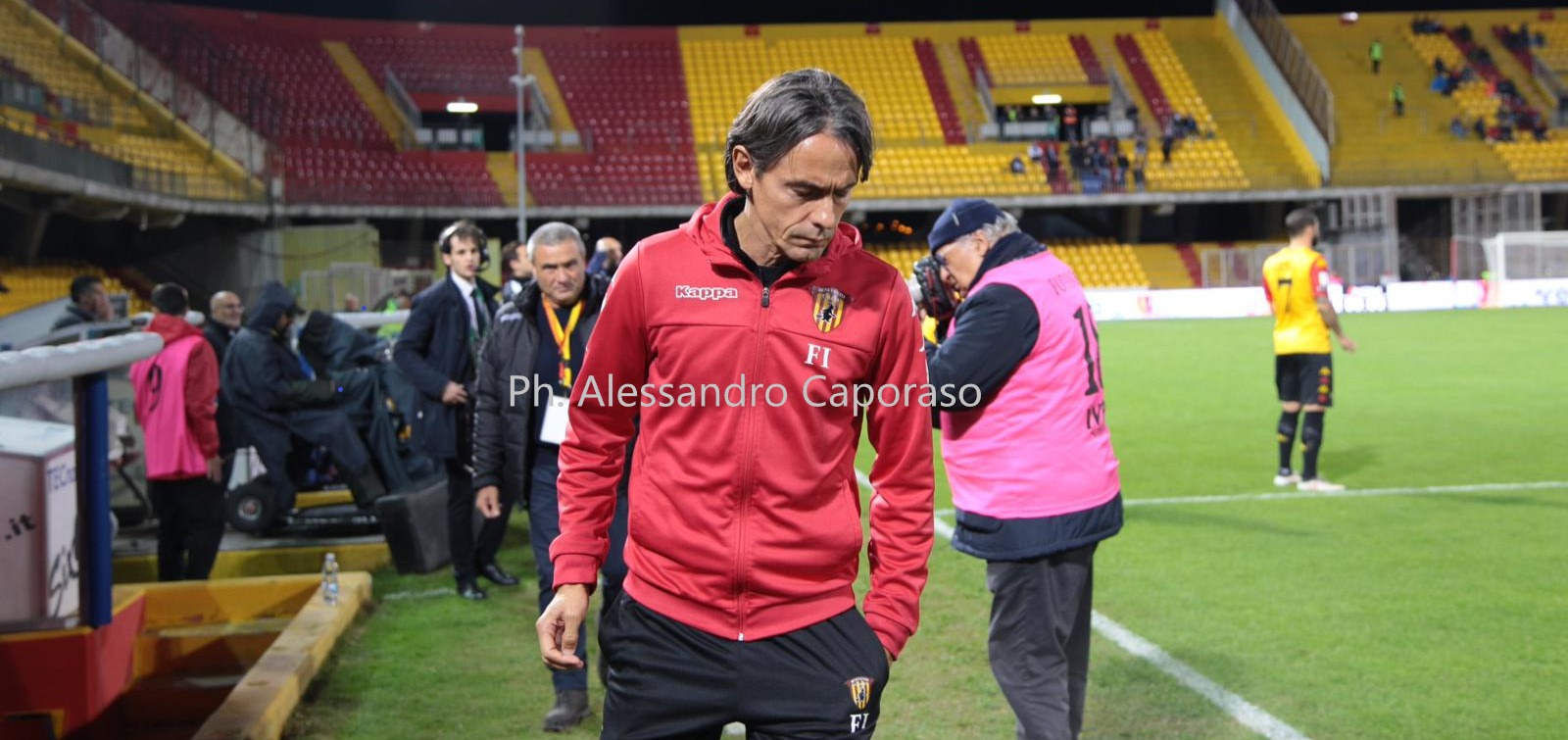 """Benevento, Inzaghi verso la Fiorentina: """"Prima di fare processi ci vuole coerenza. Siamo pronti per una bella partita"""""""