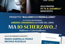 Benevento| Bullismo e cyberbullismo, incontro con lo scrittore Caramanica