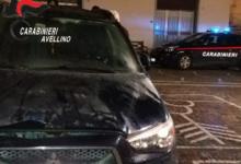 Flumeri| Mitsubishi data alle fiamme in piazza Mercato, indagano i carabinieri