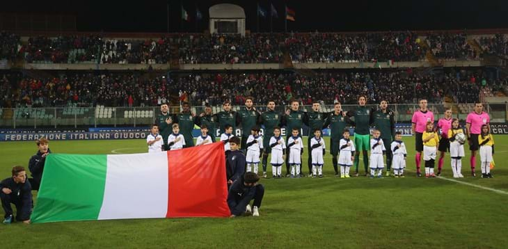 """Benevento, al """"Vigorito"""" torna la Nazionale Italiana Under21"""