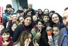 Giornalisti per un giorno: gli alunni del De Sanctis di Moiano in visita a Labtv