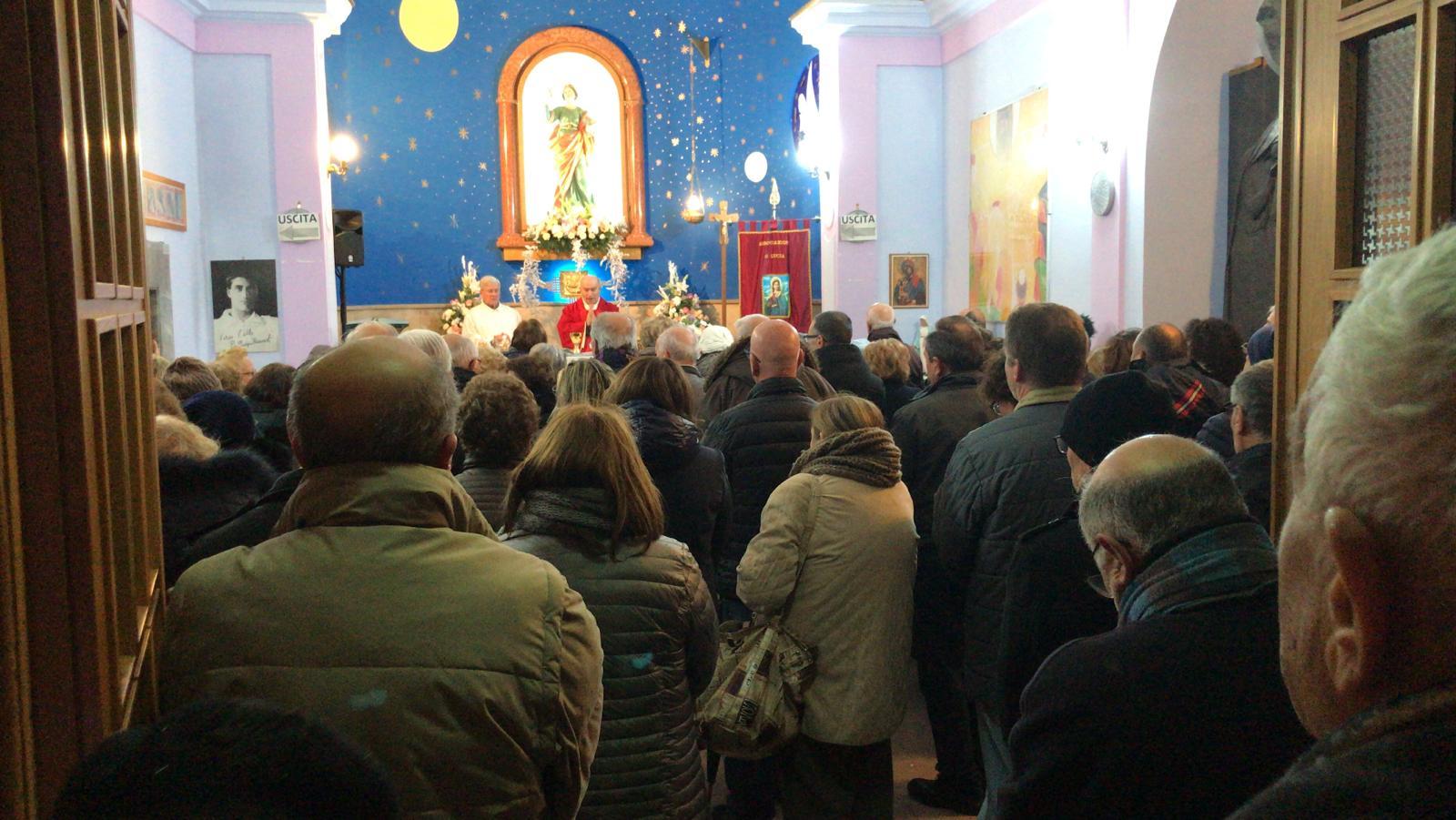 Benevento  Le celebrazioni al piccolo santuario di Santa Lucia