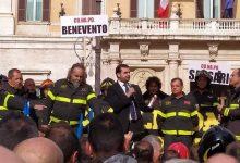 Avellino| I Vigili del Fuoco del Conapo festeggiano il 24 ad Avellino la conquista dei 165 milioni stanziati nella legge di bilancio
