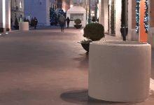 Benevento| Luci spente, spuntano i blocchi di cemento
