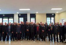 Il generale Cagnazzo ad Avellino per i tradizionali auguri tra carabinieri in congedo e in servizio