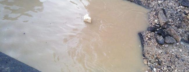 Benevento| Stop all'acqua a San Modesto a causa di un guasto su una condotta