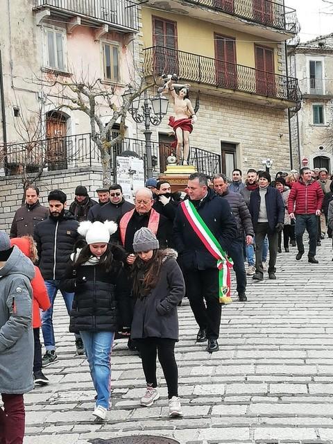 Santa Croce del Sannio| Celebrato San Sebastiano, Patrono della Polizia Locale