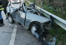 Strada Telesina:46enne muore intrappolato nella sua auto.Violento il frontale con un TIR