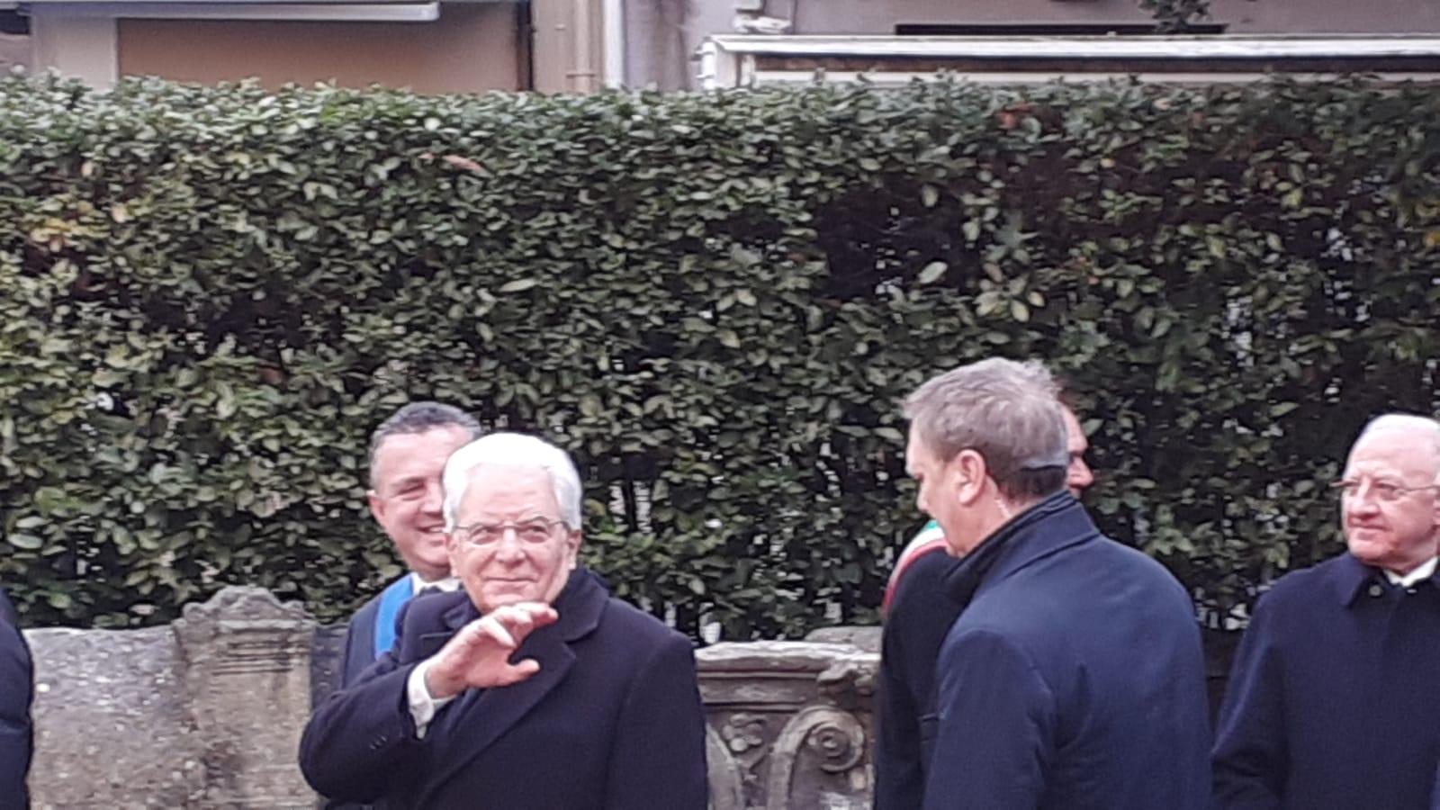 Mattarella a Benevento