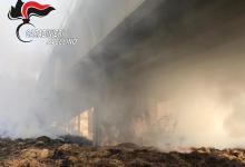 Teora| A fuoco balle di fieno sotto il ponte della ss 691, strada chiusa nella notte e verifiche al viadotto