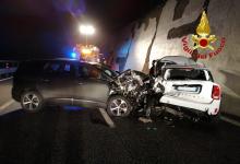 Monteforte Irpino  Incidente tra due auto sulla Napoli-Canosa, due feriti in ospedale