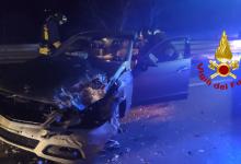 Lioni| Incidente sull'Ofantina bis, 3 auto coinvolte: 5 feriti trasportati in ospedale