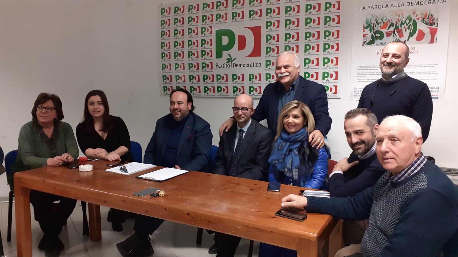 Benevento| Riunito l'interpartitico al PD