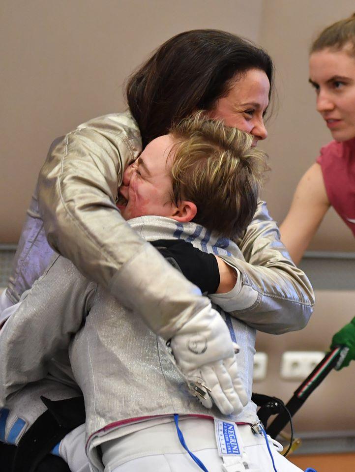 Scherma paralimpica| La sannita Pasquino conquista il  bronzo in Coppa del Mondo