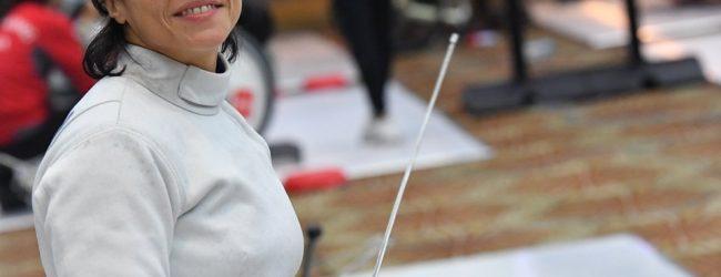 Coppa del mondo di scherma , domani torna in pedana l'atleta paralimpica sannita Pasquino