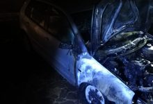 Pannarano| Auto in fiamme nella notte, si ipotizza corto circuito/FOTO