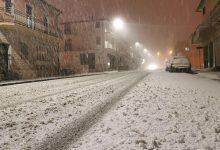 Nevica in Alta Irpinia, timidi fiocchi nel Fortore