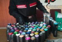 Baiano| Writers nella stazione ferroviaria, denunciati 2 uomini e sequestrate 79 bombolette spray