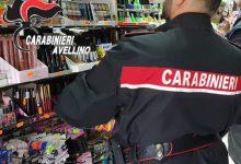 Montemiletto  Articoli di Carnevale con il marchio contraffatto, sequestri in un negozio cinese