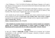 """L'appello di diversi sindaci sanniti e irpini: """"Contattare le autorità competenti se siete stati nelle zone focolaio della Campania"""""""