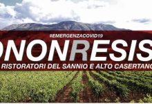 Covid-19, #IONONRESISTO: i ristoratori sanniti lanciano l'allarme