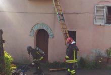 Apollosa| In fiamme secondo piano di una abitazione