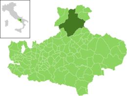Diffusione dei contagi da covid-19, ecco la mappa aggiornata in Irpinia