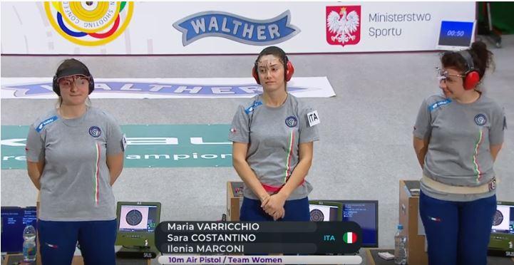 Tiro a segno| In archivio il primo Europeo senior per la sannita Varricchio: 4a nella gara a squadre