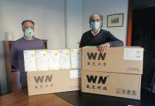 Mascherine Ffp2 consegnate all'ordine dei medici chirurghi e odontoiatri di Benevento